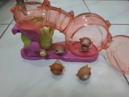 Parque de Hamster little lets pet shop