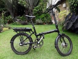 Bicicleta elétrica dobrável (somente venda)