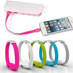 Título do anúncio: Pulseira Bracelete Usb iPhone Para iPhone