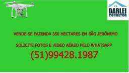 Fazenda em São Jerônimo/RS com 350 Hectares só 1900000