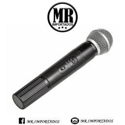 Microfone Profissional com fio e sem fio Tomate (fazemos entrega)