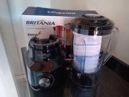 Liquidificador Britânia 900w 2,6l 4 velocidades 110v