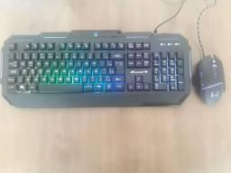 Kit teclado gamer + mouse
