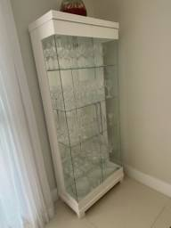 Título do anúncio: Cristaleira de vidro e MDP