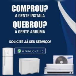Título do anúncio: Conserto de geladeira. Freezer Instalacao