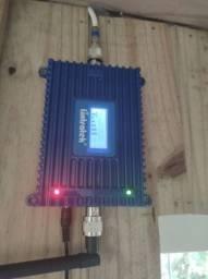 Antena e amplificador de celular 850mhz