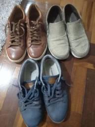 Título do anúncio: Promoção 3 pares de sapatos número 40 masculino