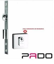 Fechadura Rolete 55 Mm P/ Porta Pivotante Pado S/ Acabamento