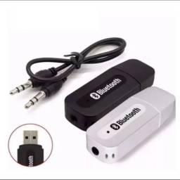 Título do anúncio: Receptor Bluetooth Usb / P2 Áudio
