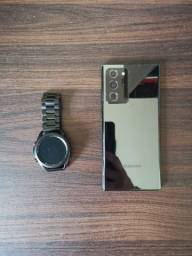 Título do anúncio: Note 20 ultra + Galaxy Watch 3 45mm Lte