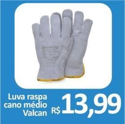 Luva Raspa Cano Médio - Valcan - Promoção R$ 13,99