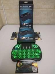 Título do anúncio: Teclado LED Wireless Smart