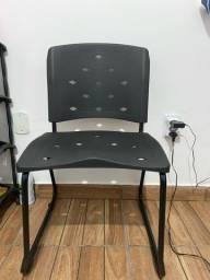 Cadeira escritório/estudo preta