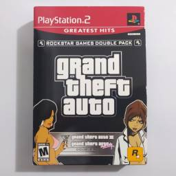 GTA Double Pack Completo Original PS2