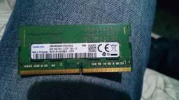 Título do anúncio: Memoria ram 8 gb ddr4 troco