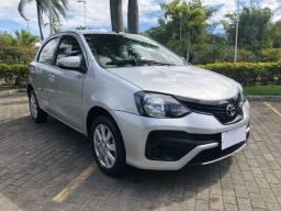 Toyota Etios X 1.5 Automático 2019/2020 C/ 17 Mil Km