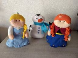 Título do anúncio: Frozen Bonecos em feltro 3un