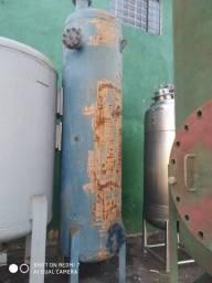 Filtro de água, abrandador em aço carbono diâmetro de 800 mm altura 2000 mm
