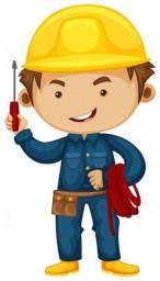 Título do anúncio: Faço pequenos serviço de elétricas em sua casa  contanto * vou ate vc