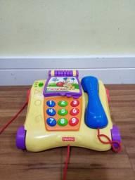 Telefone Musical Bichos Fisher Price