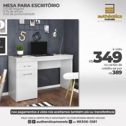 Título do anúncio: Mesa mdf com gaveta e armário 100% mdf
