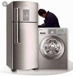 Técnico em geladeira e máquina de lavar
