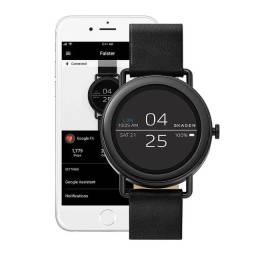 Relógio Smartwatch Android Unissex Skagen Falster Preto SKT5001/0PI Novo