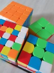 Kit 4 cubo magico profissional de campeonato