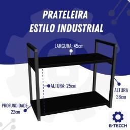 Título do anúncio: Prateleira Estilo Industrial
