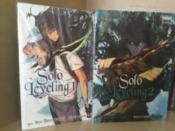 Solo Leveling volumes 1 e 2