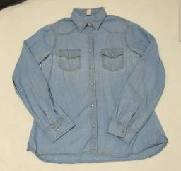 Camisa tipo jeans