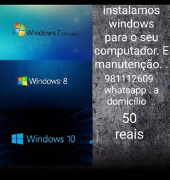 Título do anúncio: Instalamos windows para o seu computador