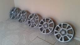 5 rodas aro 15