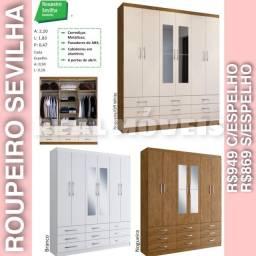 Guarda roupa Sevilha com 9 gavetas guarda roupa Sevilha com 9 gavetas 00283883