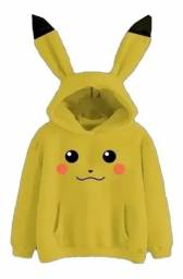 Título do anúncio: Moletom Pikachu novo