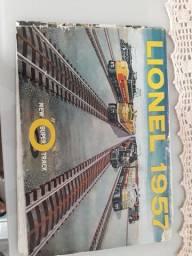 Título do anúncio: Trem lionel 1957 catalago