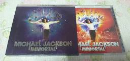 CD Michael Jackson Immortal Deluxe Edition CD Duplo