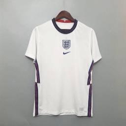 Camisa da Inglaterra Eurocopa 2021 / Camisa de Futebol Importada