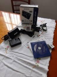 Título do anúncio: Câmera digital Cyber-shot Sony 7,2 Mega pixels DSC-W125 em bom estado