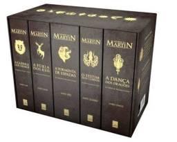 Box Guerra dos Tronos - 5 Volumes