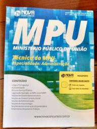 Título do anúncio: Apostila para Técnico do MPU - Nova Consursos