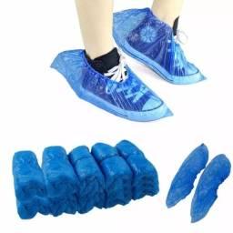 Título do anúncio: 30 Proteções descartáveis de plástico a prova d'água para calçados