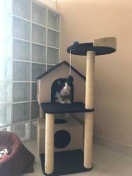 Título do anúncio: Promoção arranhador para gato mansão com caixa 199,90