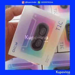 Fone de Ouvido Xiaomi QCY T1C Bluetooth 5.0 + Original + Garantia