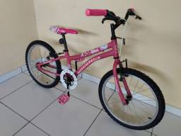 Bike semi nova aro 20