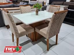 Mesa de Jantar Jasmin 120x80 - New Ceval