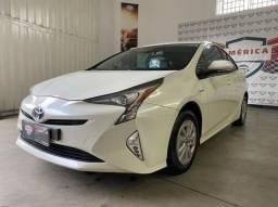 Toyota Prius Hybrid 1.8 + Couro Top Linha Acc Troca