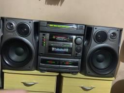 Título do anúncio: Aiwa NSX F12 2400 Watts Completo
