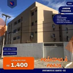 Apartamento para Locação em João Pessoa, Jardim Oceania, 3 dormitórios, 1 suíte, 2 banheir