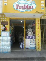 Vende - se Loja de Fraldas em Santo Estêvão/BA